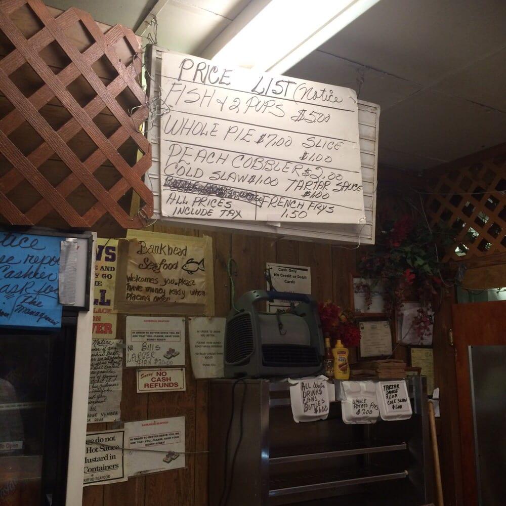 The menu yelp for Soul fish menu