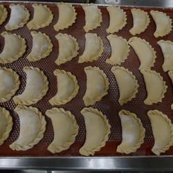 Leckere, selbstgemachte Empanadas
