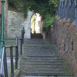 Greestone Stairs, Lincoln