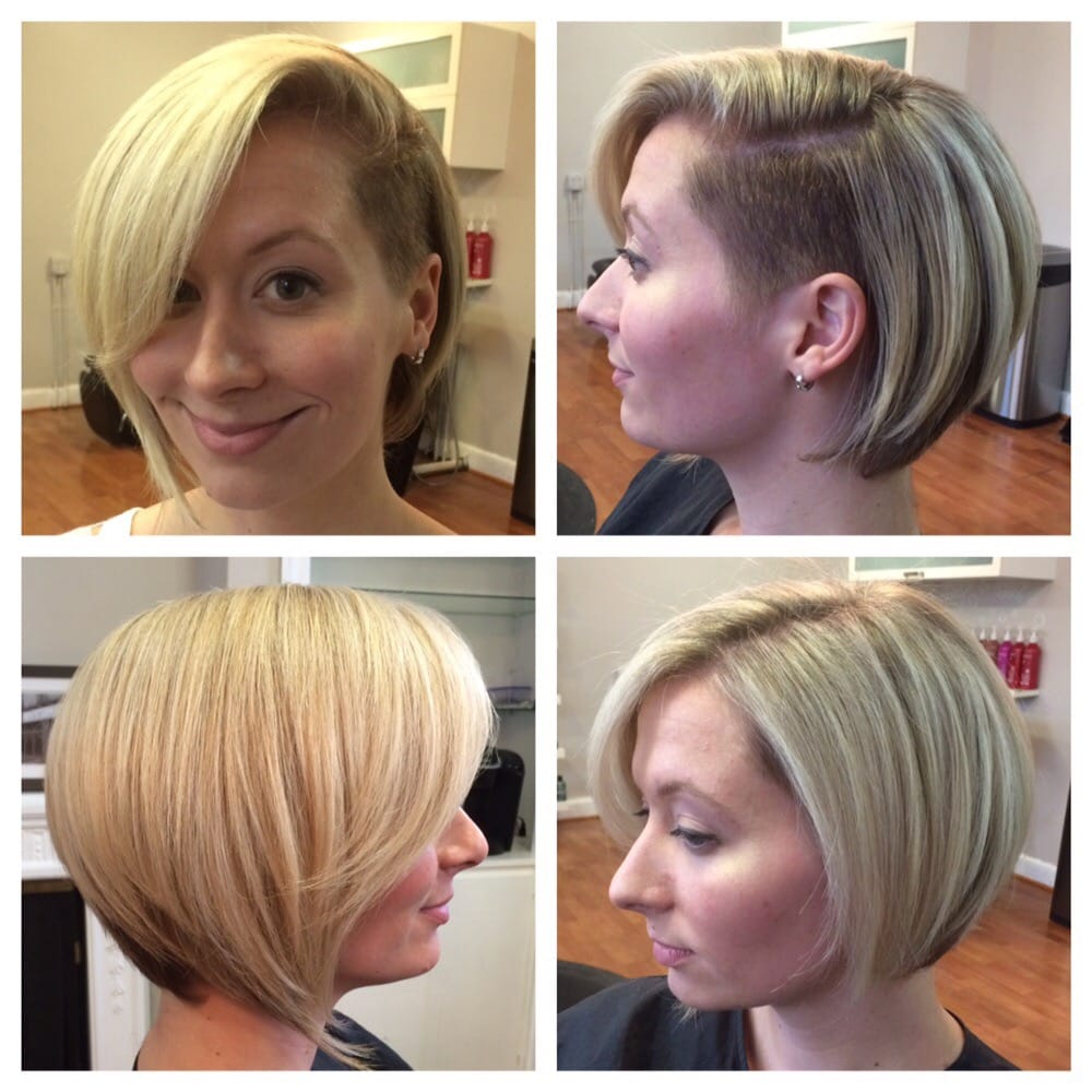 Back View Of Shaved Bob Hairstyles Short Hairstyle 2013