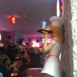 50's Happy Diner, Nice, France