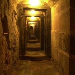 Gewölbegang in den Mittelalterlichen…