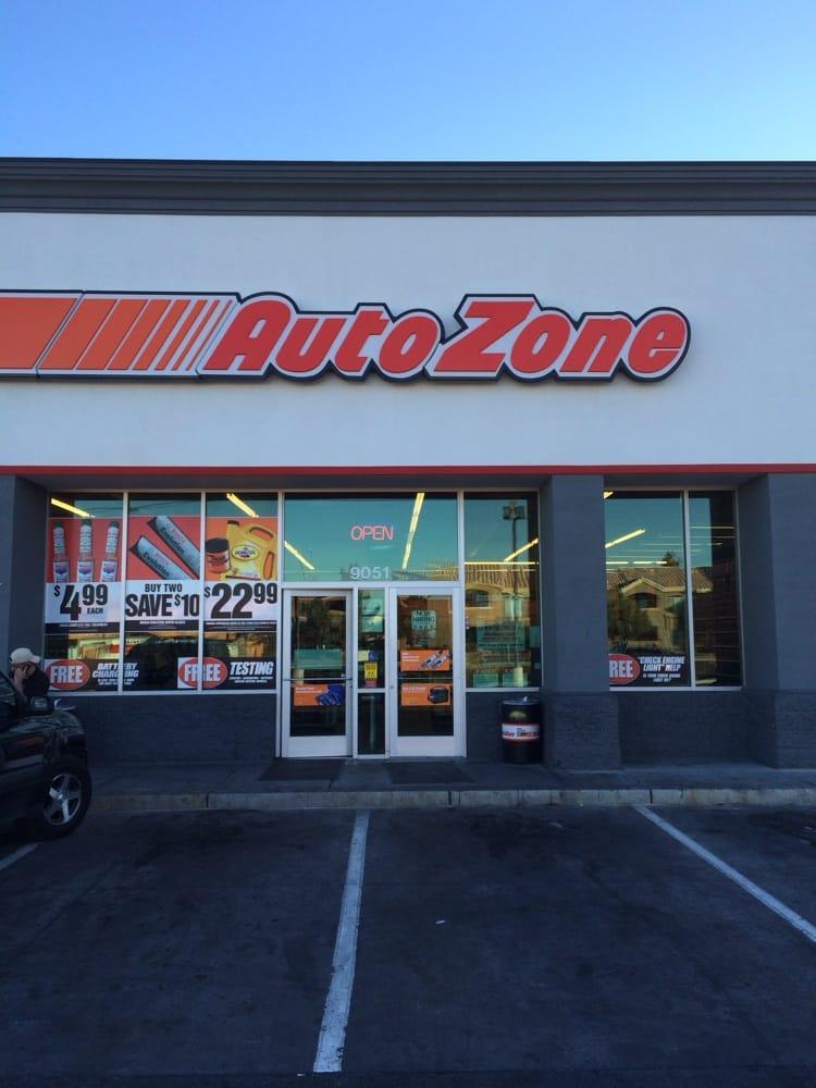 Autozone Auto Parts Supplies Spring Valley Las