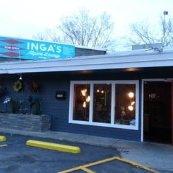Inga's Alpine Lounge logo