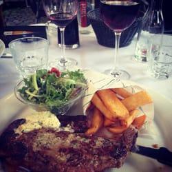 Le Cornichon Masqué - Strasbourg, France. Steak + Frites