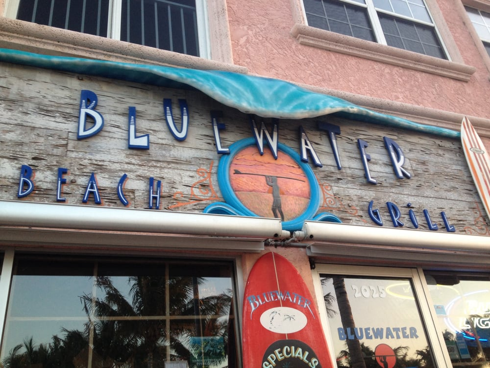 Bluewater beach grill 56 photos seafood 2025 seaway - Bluewater grill seafood restaurant oyster bar ...