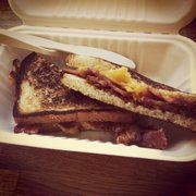 Bacon Bacon - Grilled Cheese - $8 (: - San Francisco, CA, Vereinigte Staaten