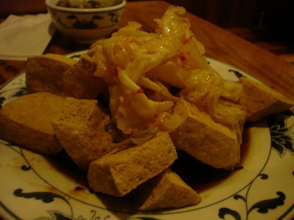 Stinky Tofu Flushing Red Chopstick Crispy Smelled Bean Curd Aka Stinky Tofu Flushing ny