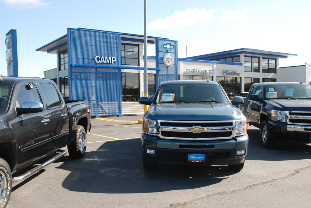 camp chevrolet cadillac car dealers spokane wa united states. Cars Review. Best American Auto & Cars Review