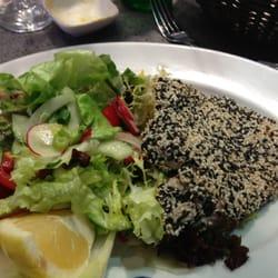 Thunfischfilet ist immer brilliant!