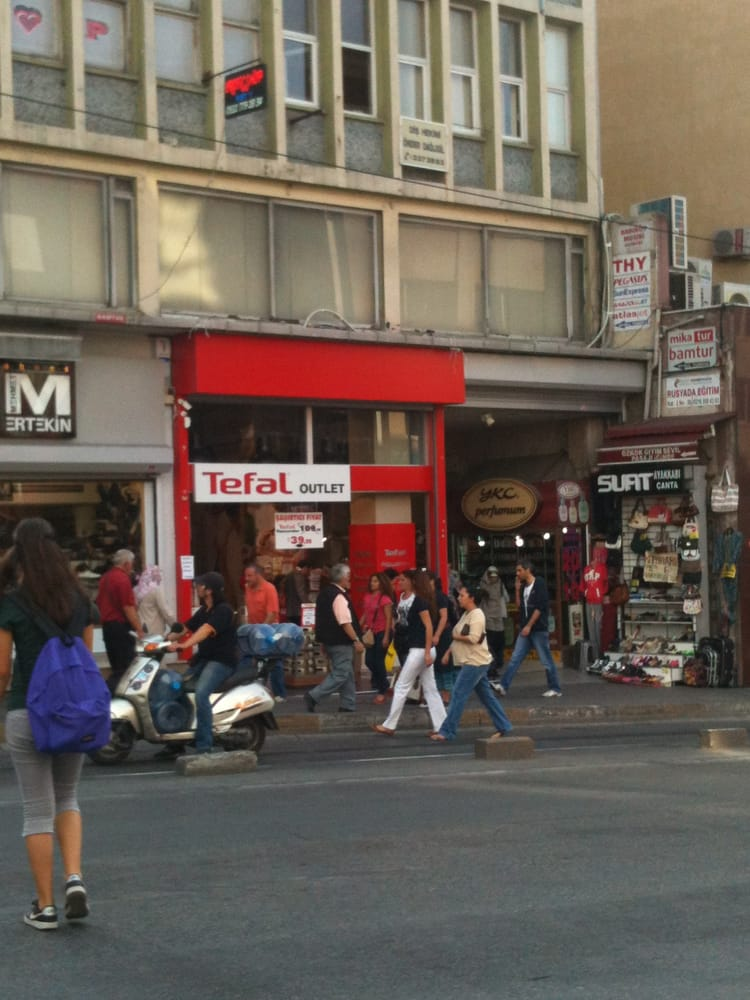 Tefal outlet magasin discount kad k y istanbul - Magasin d usine tefal ...