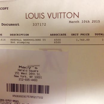 Louis Vuitton New York Macy's Herald Sq 37 Reviews & 16