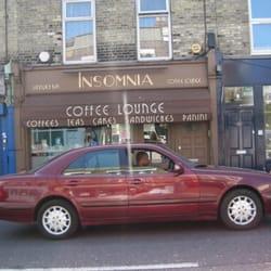 Insomnia Pizza & Coffee Lounge, London