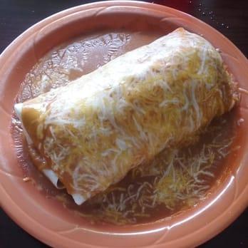 Burrito Vaquero Mexican Restaurant Menu