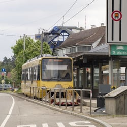 Zahnradbahn SSB - Marienplatz, Stuttgart, Baden-Württemberg