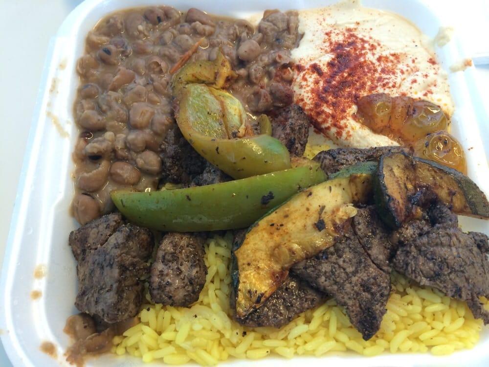 Beef Kabobs Plate Beef Shish Kabob Plate