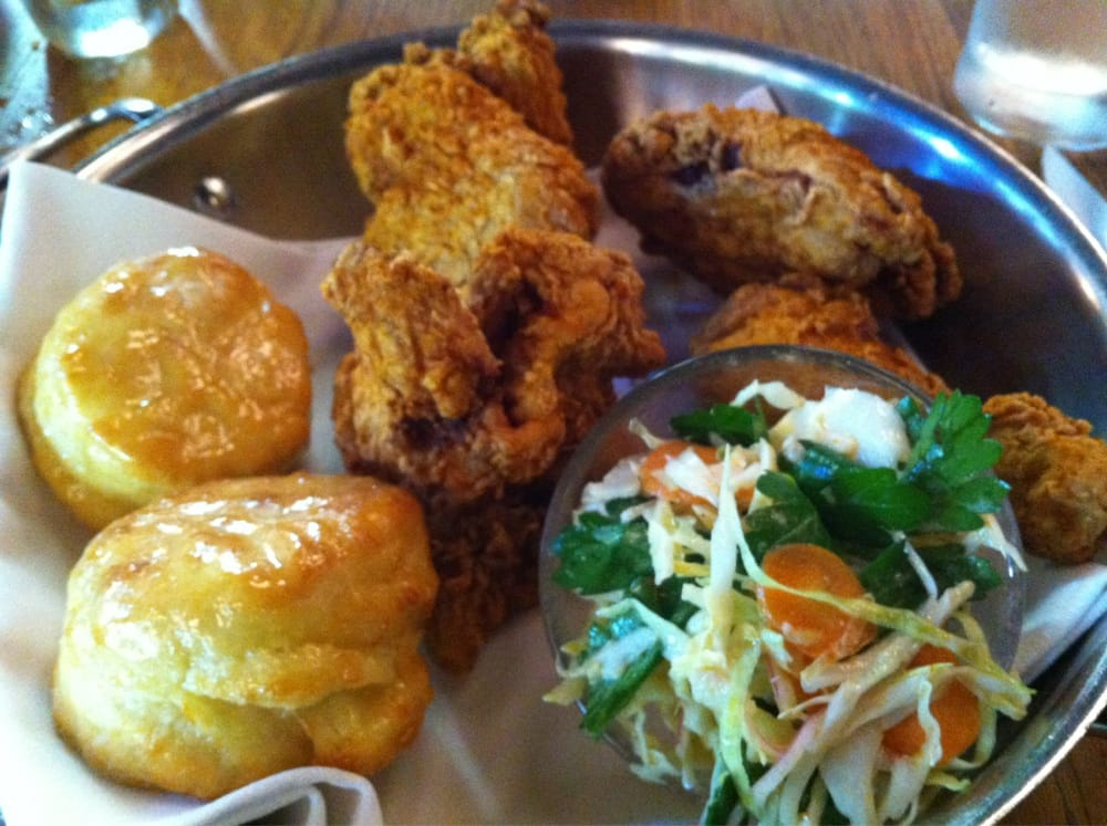 ... York, NY, United States. Hot Fried Chicken and Honey Butter Biscuits