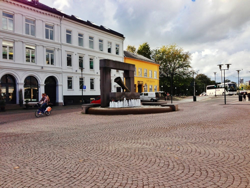 Christiania Oslo Norway Christiania Torv Oslo