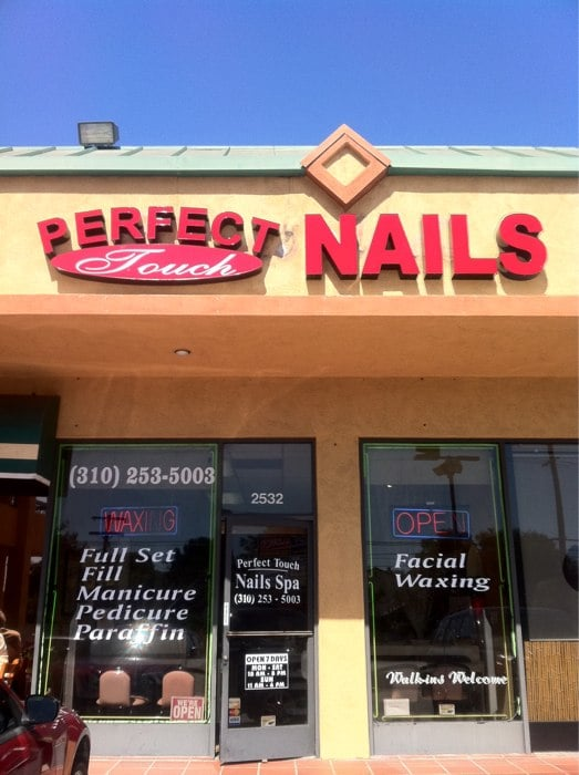 Perfect touch nail spa nail salons los angeles ca for A perfect touch salon