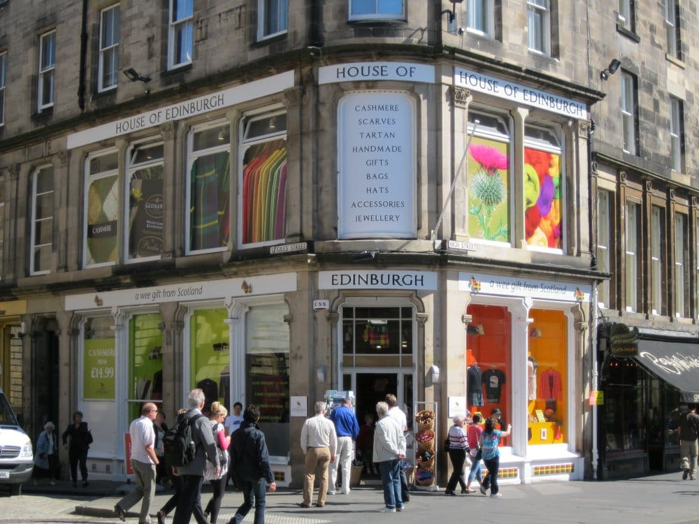 House of edinburgh department stores old town for Classic house edinburgh