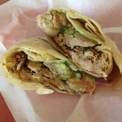 Jose's Taco Shop - Carnitas burrito (w/guacamole and pico) - Vista, CA ...