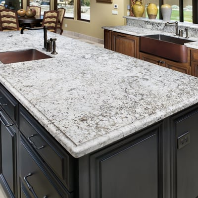 Prefab Granite Countertops Near Me : Simply Beautiful Aran White Granite. Surprisingly, inexpensive! Yelp