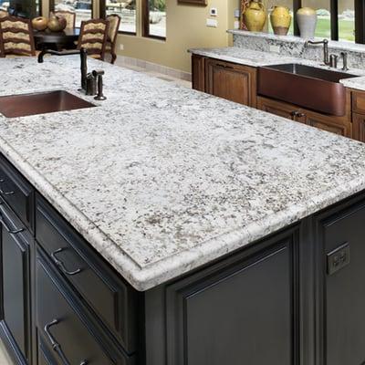 Prefabricated Granite Countertops Near Me : Simply Beautiful Aran White Granite. Surprisingly, inexpensive! Yelp
