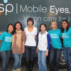 Prevent Blindness Northern California - A few up the optometrists and PBNC staff on the VSP Vision Van. - San Francisco, CA, Vereinigte Staaten