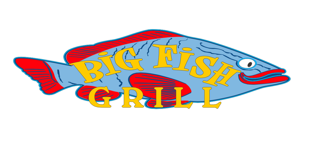 Big fish grill on the monterey wharf yelp for Big fish happy hour