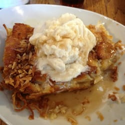 ... , CA, United States. Pineapple coconut baked French toast. So yummy