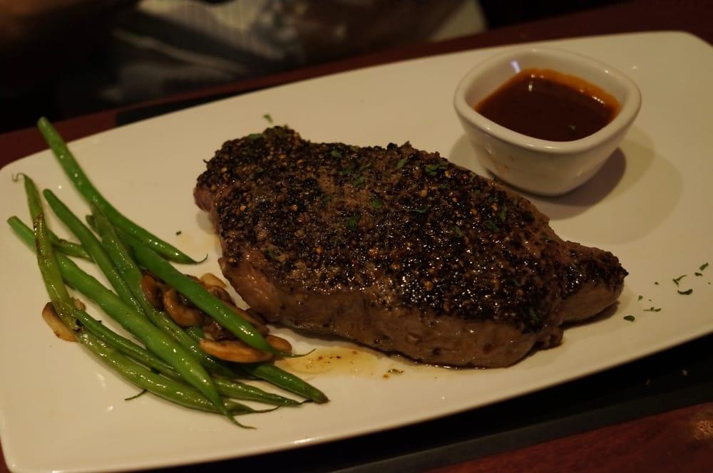 Steakhouse Chain Restaurant Recipes: Peppercorn Steak