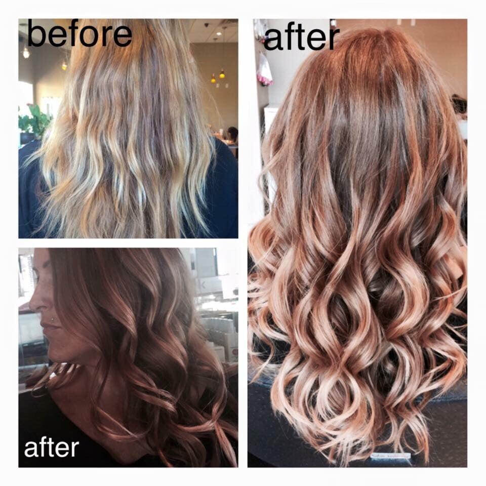 Rose Gold Hair Diy Hairstylegalleries Com