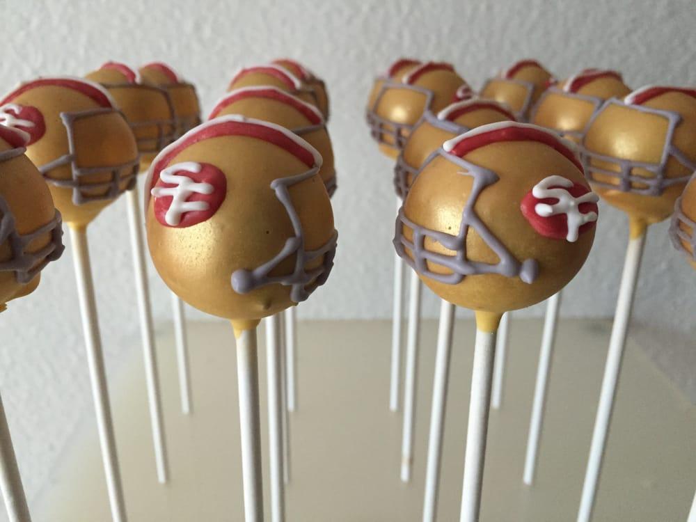 Seahawks Cake Pops Frozen Cake Pops   Yelp