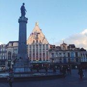 La grande place, Lille.