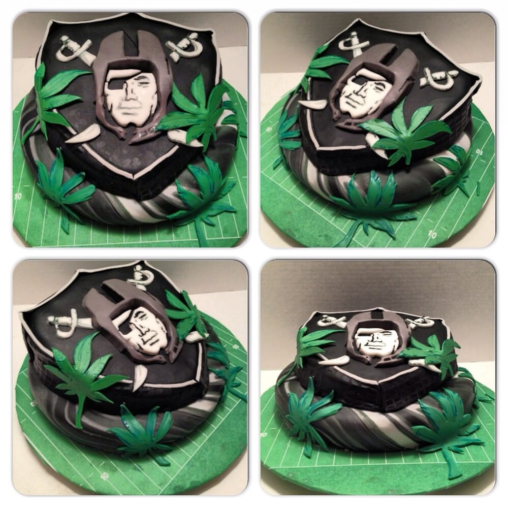 Raider Birthday Cake Raiders 420 Cake For The