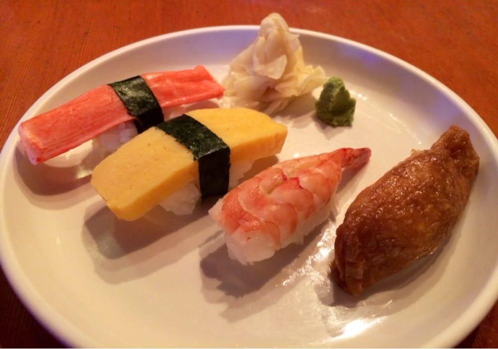 Tamago Nigiri Sushi Nigiri Sushi Kani