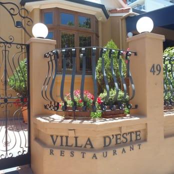 Villa d este restaurant venues event spaces west for Villa d este como ristorante