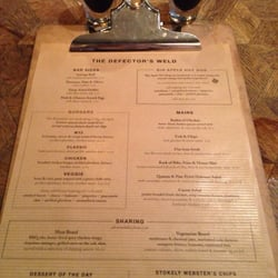The good menu and a few shots of Coffee…
