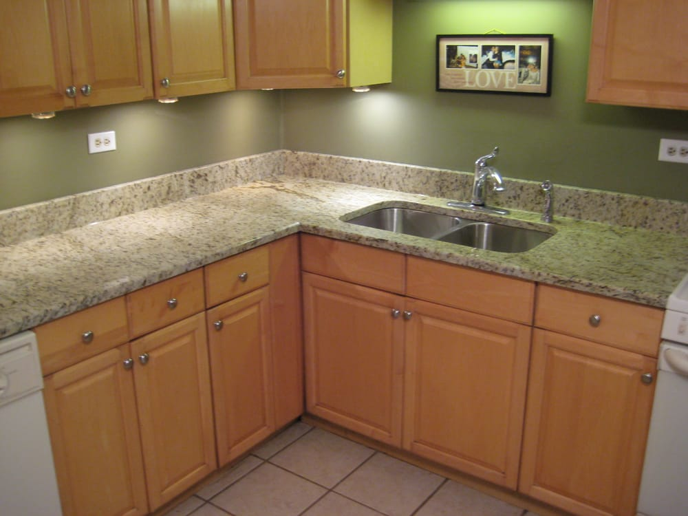 Giallo Ornamental Kitchen Fabricated And Installed By Art