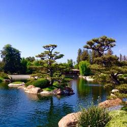 The Japanese Garden Botanische Tuinen Sepulveda Basin Van Nuys Ca Verenigde Staten