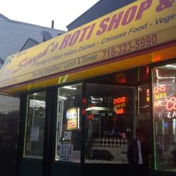 Singh s roti shop bar 47 photos caribbean ozone for Roti food bar