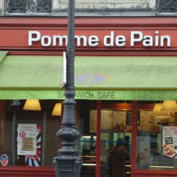 Pomme de pain takeaway fast food beaubourg paris france photos - Pomme de pain marseille ...