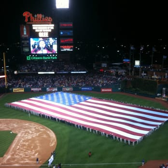 Citizens Bank Park - Philadelphia, PA, États-Unis. Another great night at Citizens Bank Park!