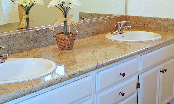 Bathroom cabinets granite countertops yelp for Bathroom cabinets yelp