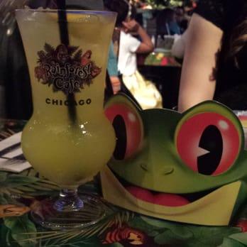 Rainforest Cafe Alcoholic Drinks