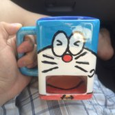 The Hot Spot Candle Making Pottery Painting & More - San Diego, CA, United States. My doraemon creation haha