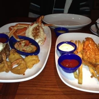 Red lobster seafood monrovia ca yelp for Red lobster fish and chips