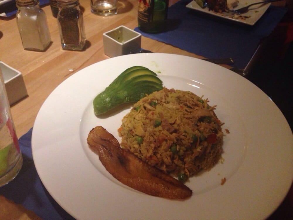 Arroz Con Pollo Colombiano el Porton Colombiano Restaurant Arroz Con Pollo Huntington Beach ca