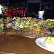Stinky's Fish Camp - 36 oysters and 12 fried ooooh my! - Navarre, FL, Vereinigte Staaten