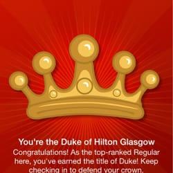 I've earned my crown